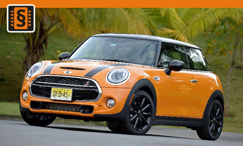 Chiptuning Mini Cooper S Turbo 129kw (175hp)