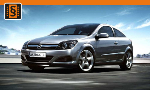 Chiptuning Opel Astra 1.7 CDTi 55kw (75hp)