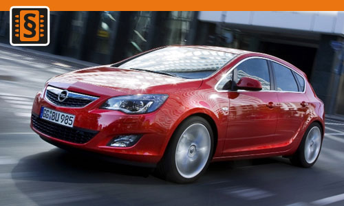 Chiptuning Opel Astra 1.7 CDTi 118kw (160hp)