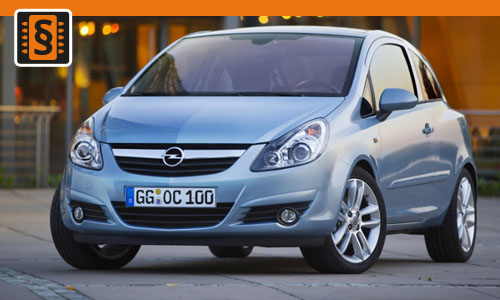 Chiptuning Opel Corsa 1.4 Turbo 88kw (120hp)