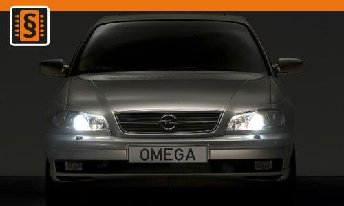 chiptuning opel omega 2 5 dti 110kw 150hp chiptuning. Black Bedroom Furniture Sets. Home Design Ideas