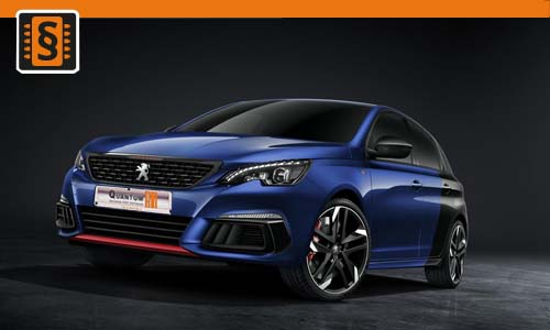 Chiptuning Peugeot 308 1.5 BlueHDi 96kw (130hp)