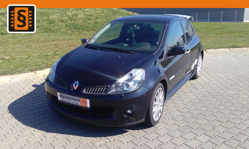 Chiptuning Renault Clio 1.6 16V GT 94kw (128hp)