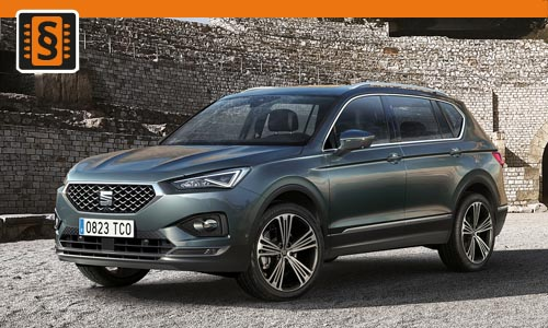 Chiptuning Seat Tarraco 2.0 TSI 140kw (190hp)