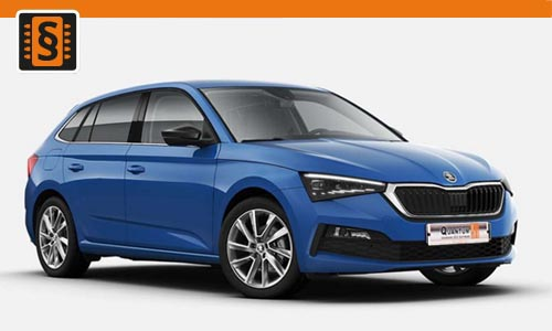 Chiptuning Skoda Scala 1.0 TSI 70kw (95hp)