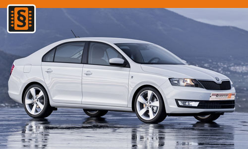 Chiptuning Skoda Rapid 1.2 TSI 63kw (85hp)