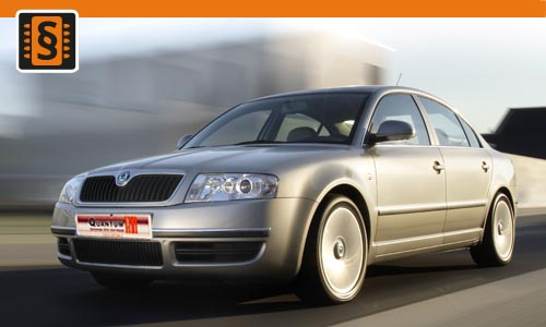 Chiptuning Skoda Superb 2.8 V6 142kw (193hp)