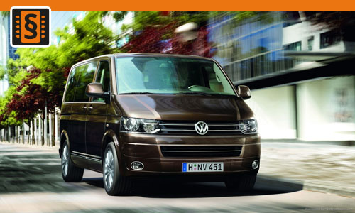 Chiptuning VW Transporter 2.0 TDI 103kw (140hp)