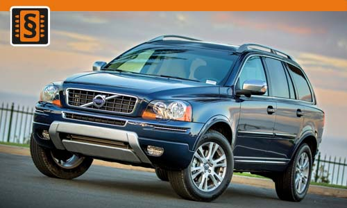 Chiptuning Volvo XC90 2.5 T 154kw (210hp)