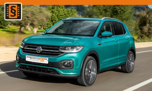 Chiptuning Volkswagen T-Cross 1.5 TSI 110kw (150hp)