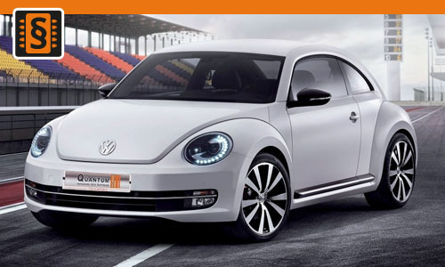 Chiptuning Volkswagen New Beetle 2.0 TSI 162kw (220hp)