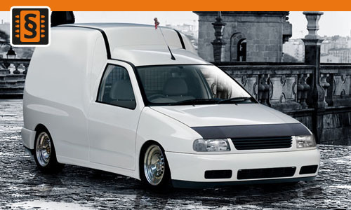 Chiptuning Volkswagen Caddy 1.9 TDI 66kw (90hp)