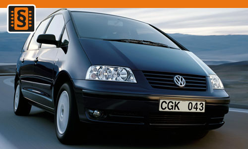 chiptuning volkswagen sharan 1 9 tdi 85kw 115hp. Black Bedroom Furniture Sets. Home Design Ideas