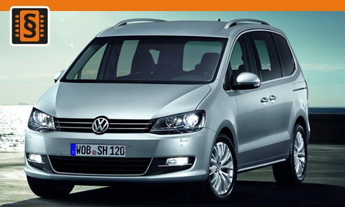 chiptuning volkswagen sharan 2 0 tdi 100kw 136hp. Black Bedroom Furniture Sets. Home Design Ideas
