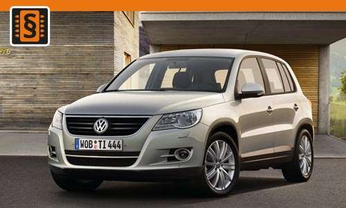 chiptuning volkswagen tiguan 2 0 tdi 103kw 140hp. Black Bedroom Furniture Sets. Home Design Ideas