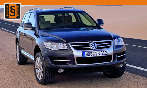 chiptuning volkswagen touareg 3 0 tdi 165kw 225hp. Black Bedroom Furniture Sets. Home Design Ideas