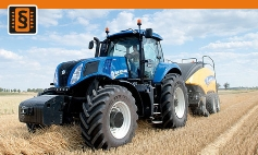 Chiptuning New Holland  T8