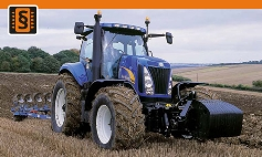 Chiptuning New Holland  T8000