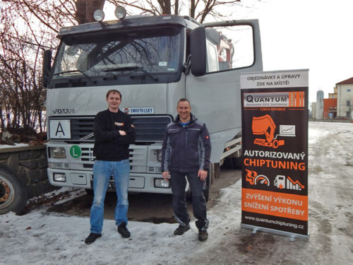 Chiptuning Volvo FH12 380