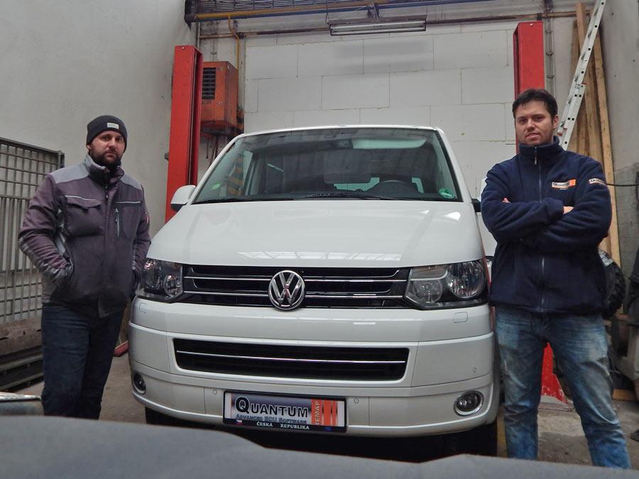 Chiptuning Volkswagen T5 2.0TDi-CR