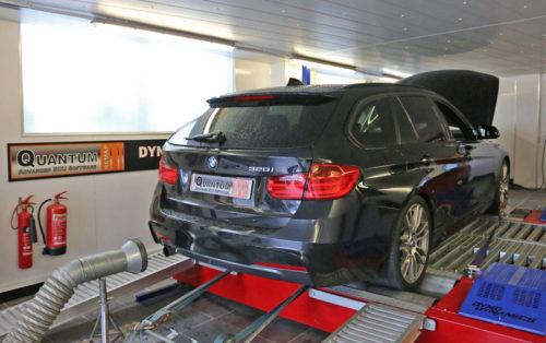 Chiptuning BMW 3 valcová zkušebna