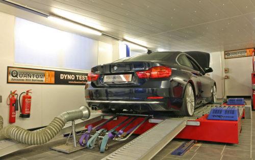 Chiptuning BMW 4 435D valcová zkušebna