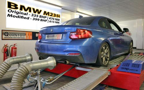 Chiptuning BMW M2 235 valcová zkušebna