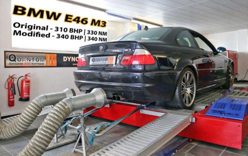 Chiptuning BMW M3 valcová zkušebna