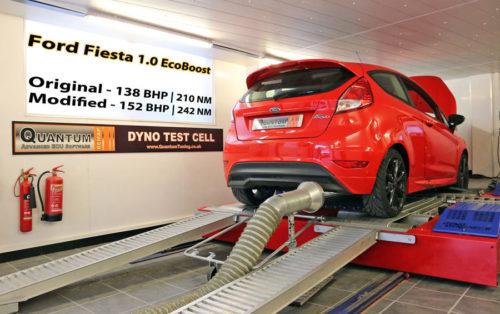 Chiptuning Ford Fiesta 10 ecoboost valcová zkušebna