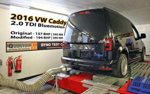 Chiptuning VW caddy 20TDI valcová zkušebna