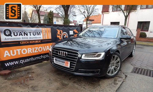 Reference chiptuning Audi A8 L 3.0TDi 190kW