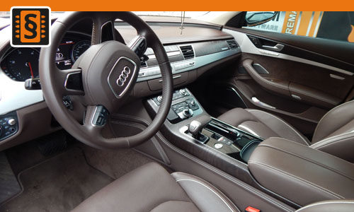 Reference chiptuning Audi A8 L 3.0TDi interier