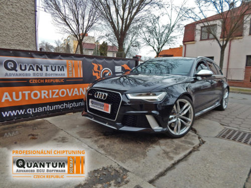 Chiptuning Audi RS6 4.0 TFSi 560HP (412kW)
