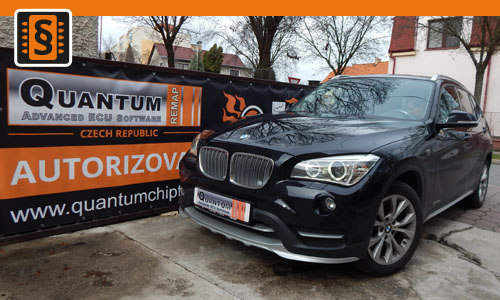 Reference Chiptuning Praha BMW X1 18d F48 105kw 143hp