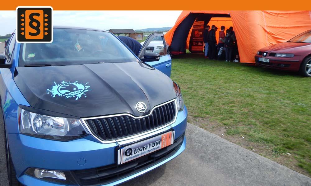 Tuning Extreme Show Dlouhá Lhota - Chiptuning - Škoda Fabia 1.2TSi