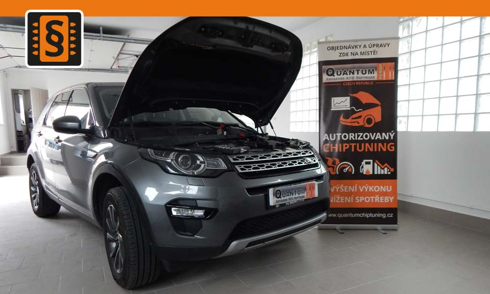 Reference Chiptuning Brno Land Rover Discovery 2.2SD4