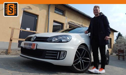 Reference Chiptuning Brno Volkswagen Golf 6 2.0TDi 103kw 140hp
