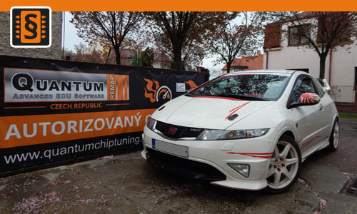 Reference Chiptuning Praha Honda Civic Type R 148kw 201hp