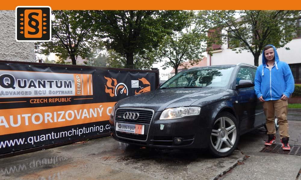 Reference Chiptuning Praha Audi A4 2.0TDi 103kw 140hp