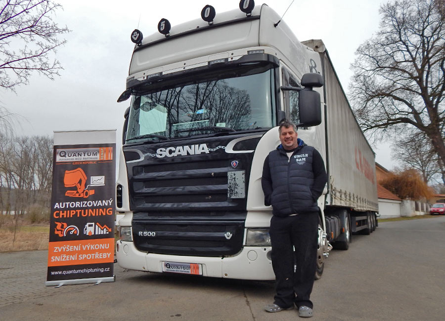 Chiptuning SCANIA R500 2008
