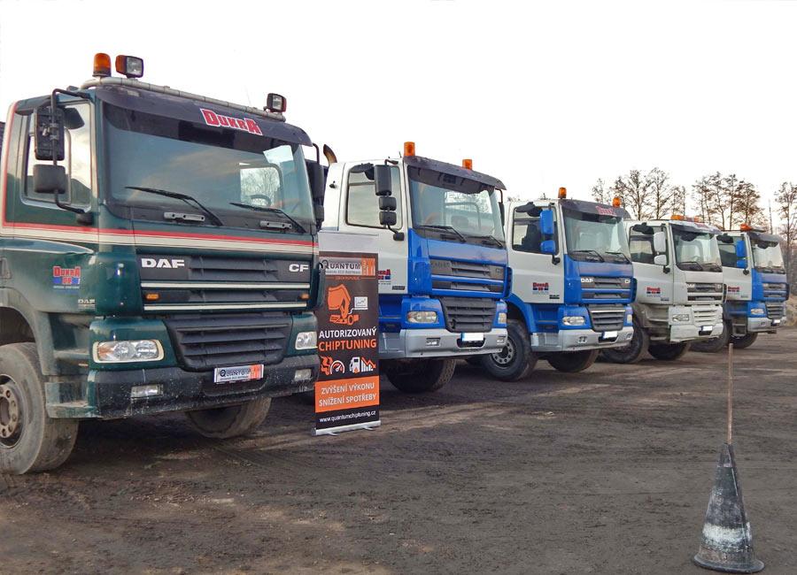 Chiptuning kamionů DAF