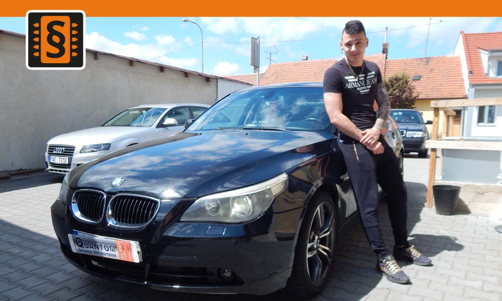 Reference Chiptuning Brno BMW 525D E60