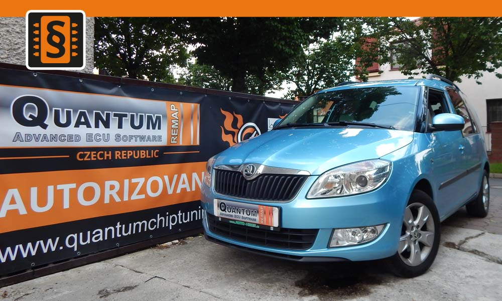 Reference Quantum Praha Chiptuning Škoda Roomster 1.2TSi 63kw