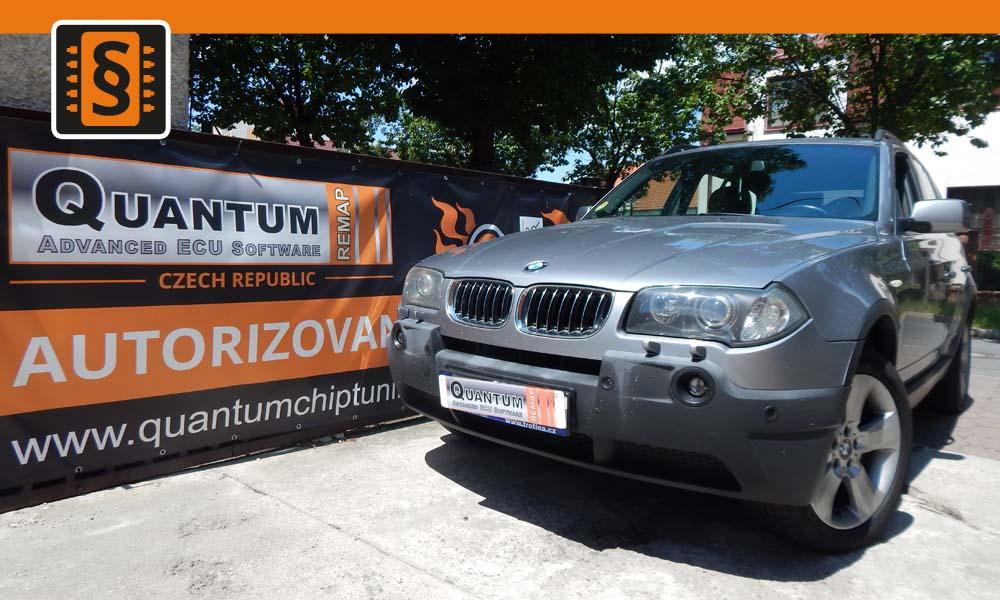 Reference Quantum Praha Chiptuning BMW X3 30D 150kw
