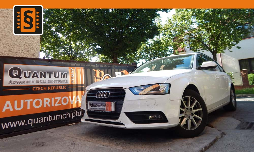 Reference Quantum Praha Chiptuning Audi A4 1.8TFSi 88kw