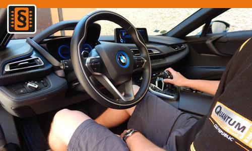 Reference Quantum Praha Chiptuning BMW i8 Hybrid Interier