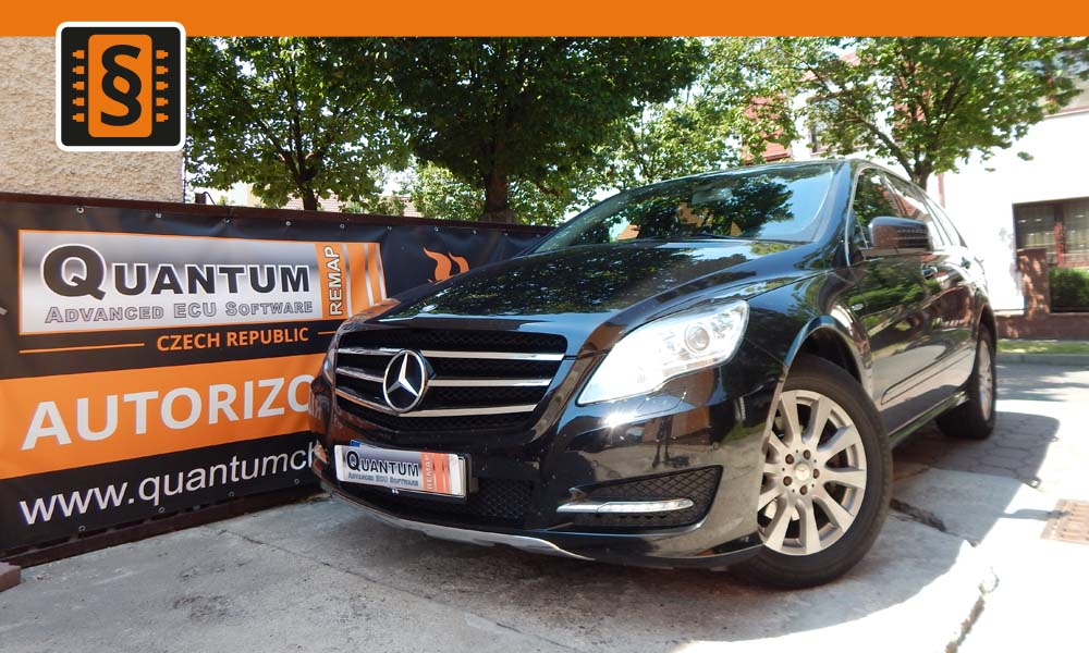 Reference Chiptuning Praha Mercedes R 300CDi 140kw