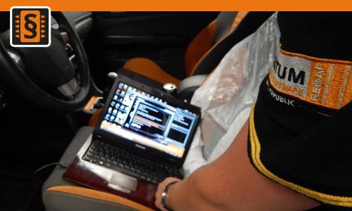 Měření výkonu - Chiptuning Ford Focus ST 2.5T ECU Flash