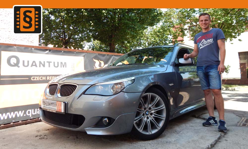 Reference Chiptuning Praha BMW 525D 145kW