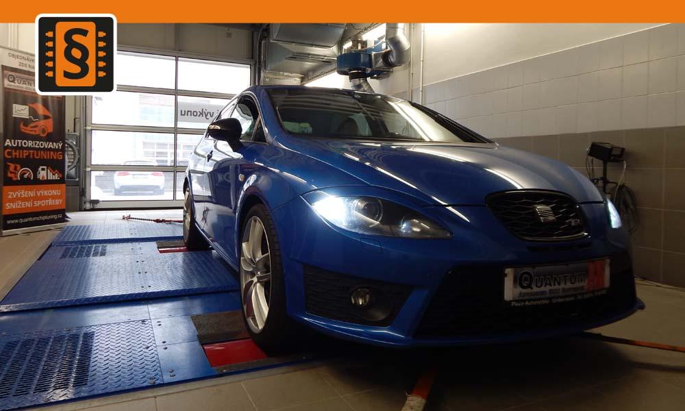 Quantum Chiptuning a měření výkonu vozidla Seat Leon Cupra 2.0TSi